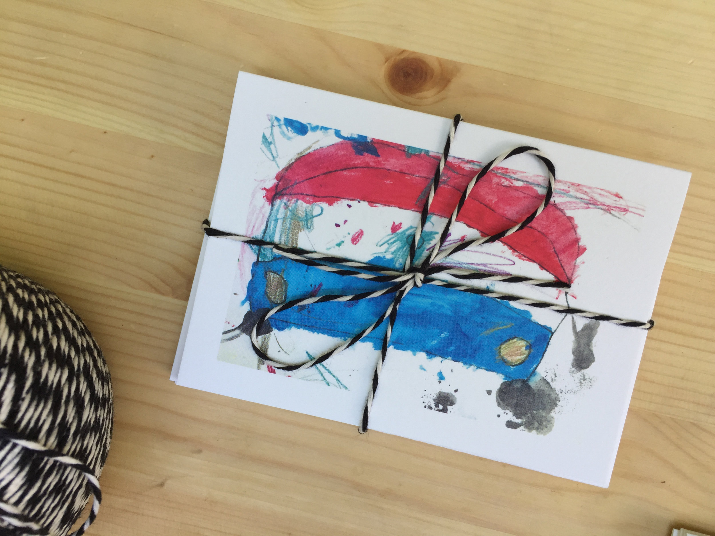 DIY Notecard Sets of Your Child's Artwork by Rebecca Pitts for Dear Handmade Life - 02.jpg
