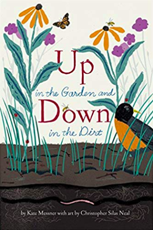 Up in the Garden and Down in the Dirt by Kate Messner.png