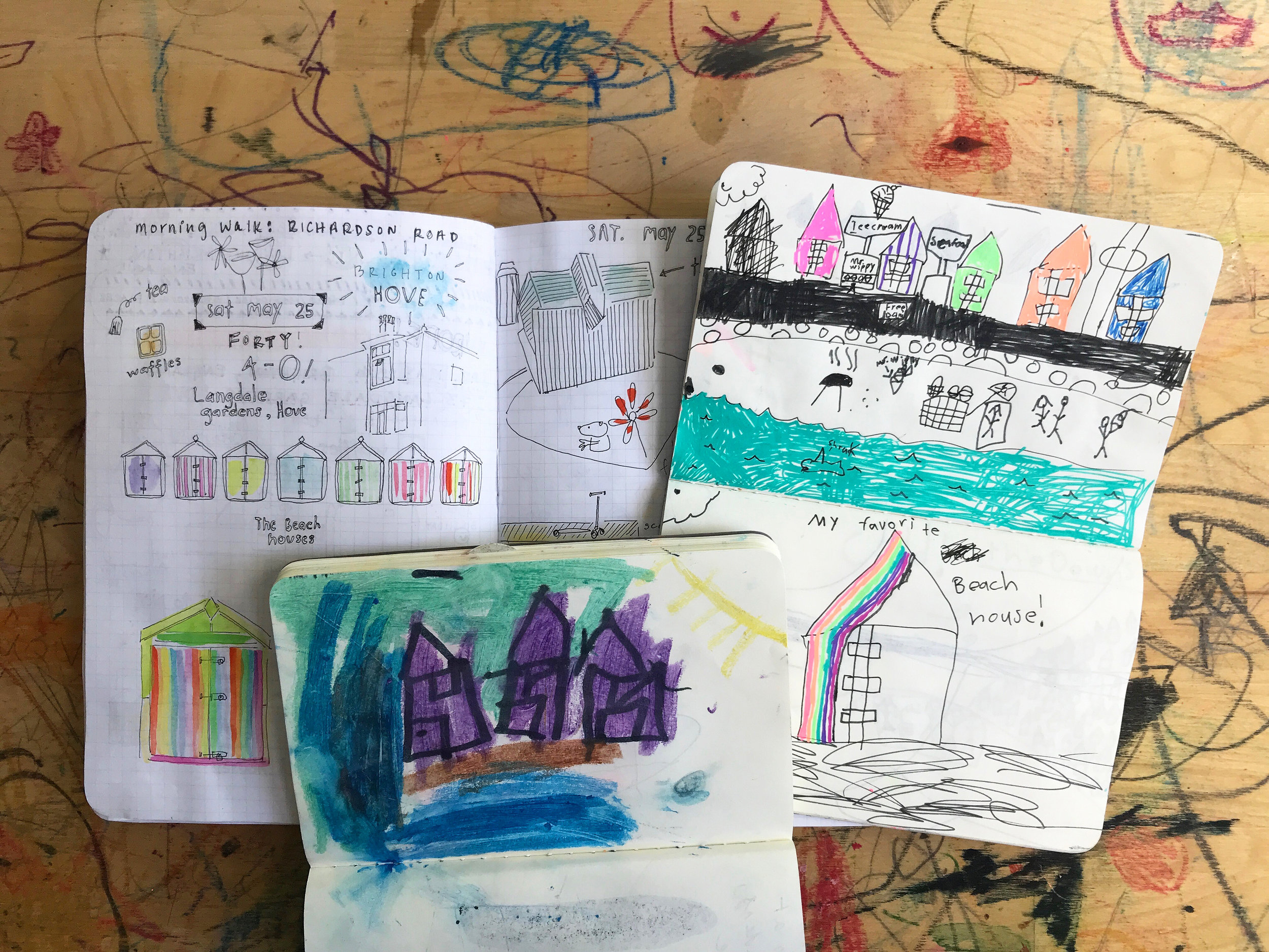 Keeping a Travel Journal with Kids by Rebecca Pitts