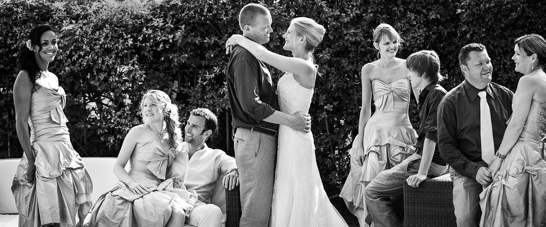 Lake Garda wedding - Bridal Party