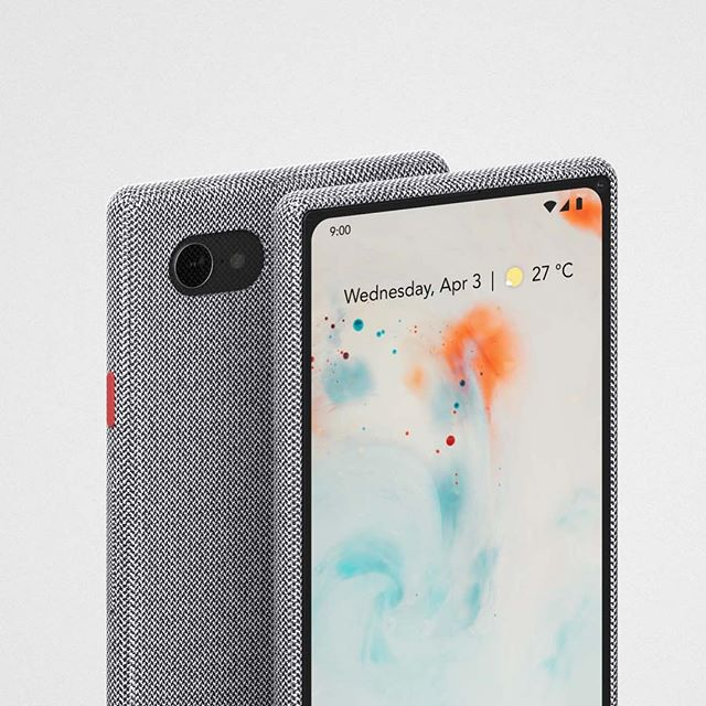 Notchless phone concept