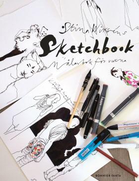 Sketchbook, Målarbok för vuxna