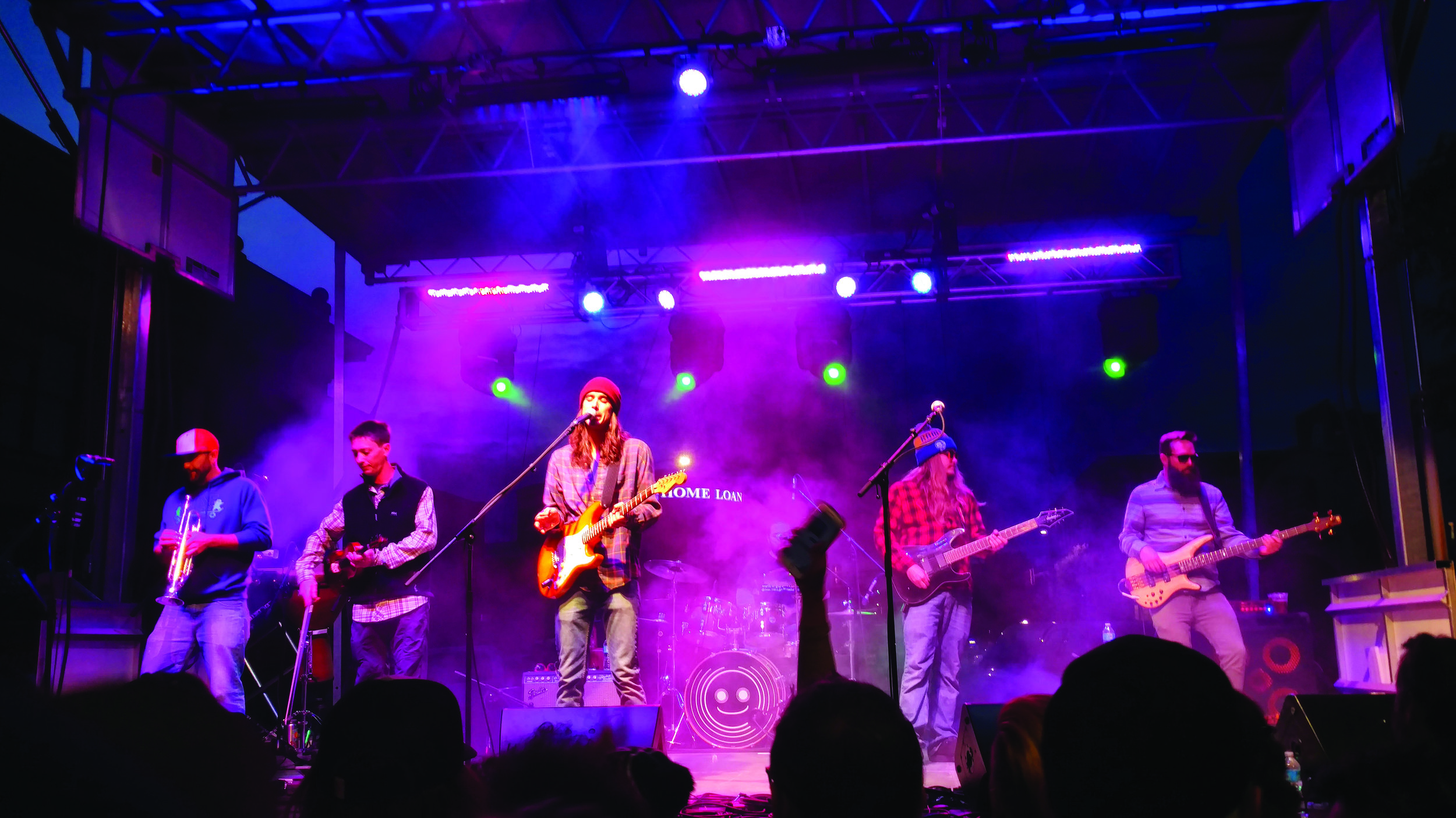 Zolopht headlines the Downtown Music Festival  (photo by Greg Hartman)