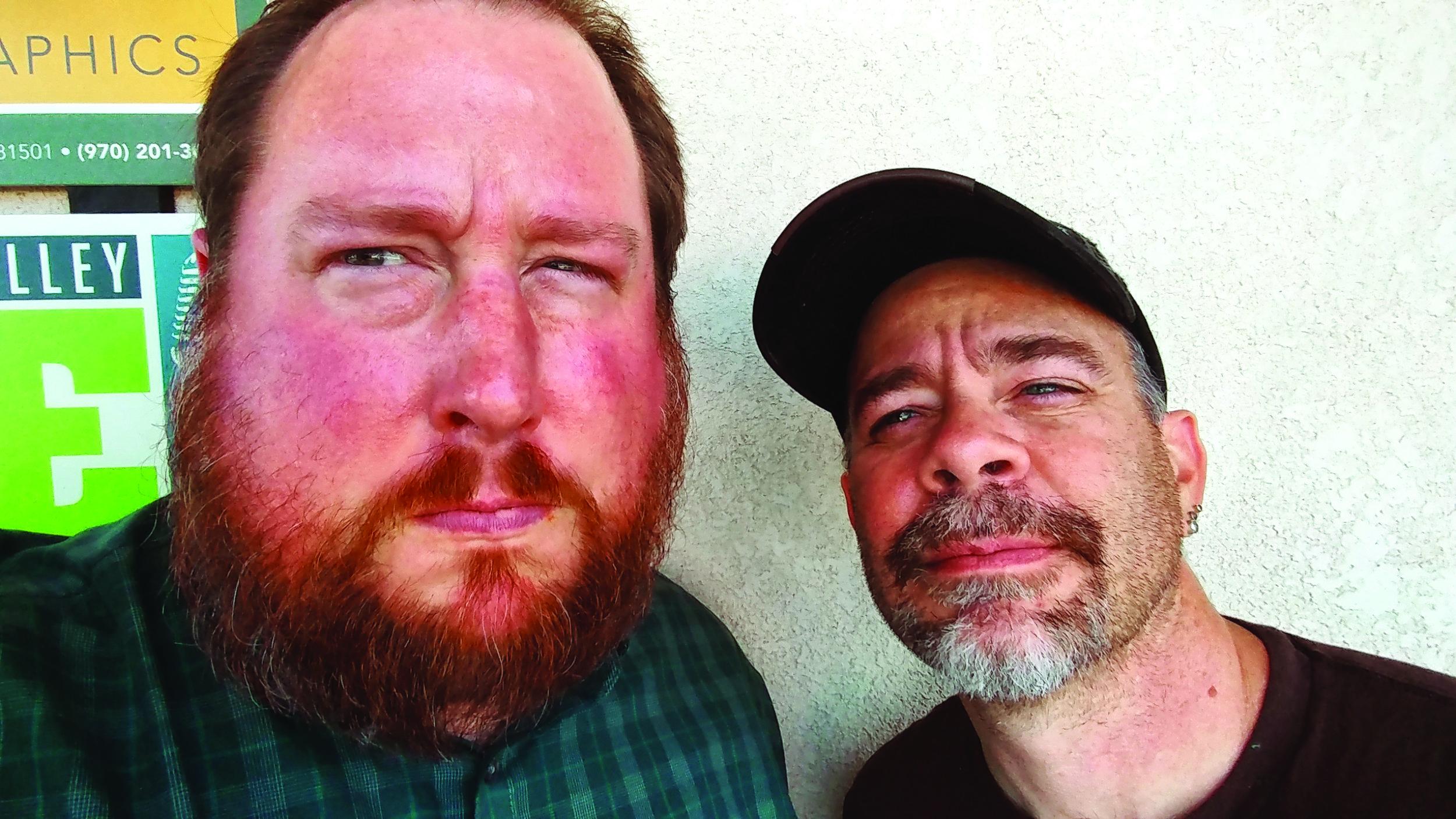 Editor Greg Hartman and Publisher Jeff Steele