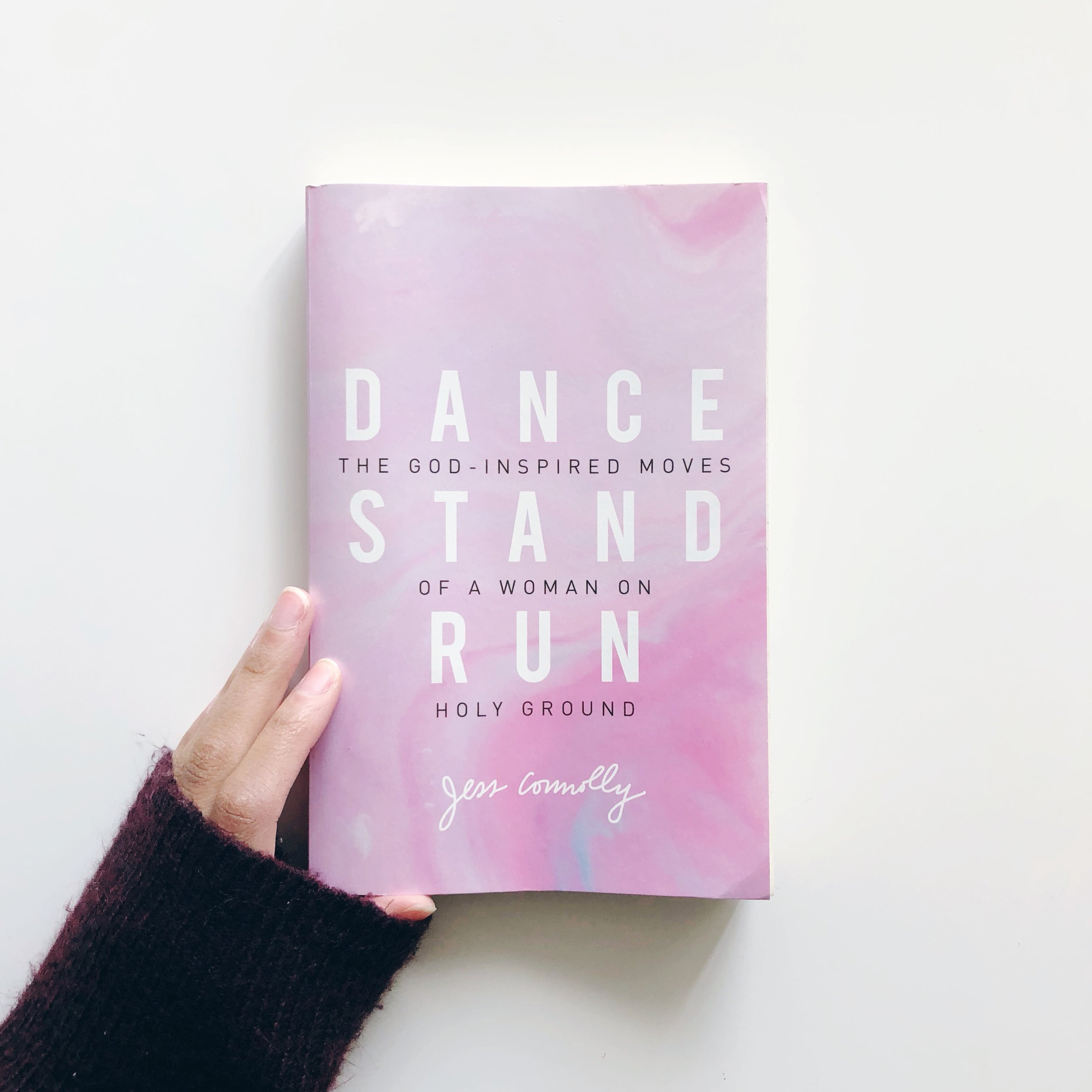 Dance Stand Run  was so much more than I expected. I thought, to be honest, it would be all about living free and letting loose as a Christian woman. To some extent, it is. But not in the way or for the reasons I anticipated. Jess Connolly absolutely NAILS it with this as she accurately and clearly explains where grace and holiness collide. It is a beautiful book that I believe our culture NEEDS.  RUN AN GET THIS ONE . ASAP.
