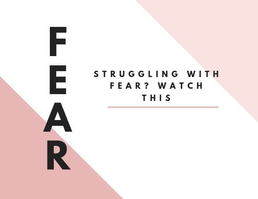 - Fear cannot have a grip on you ANY LONGER. I give you 5 steps to get through the fear and pursue whatever is on your heart.