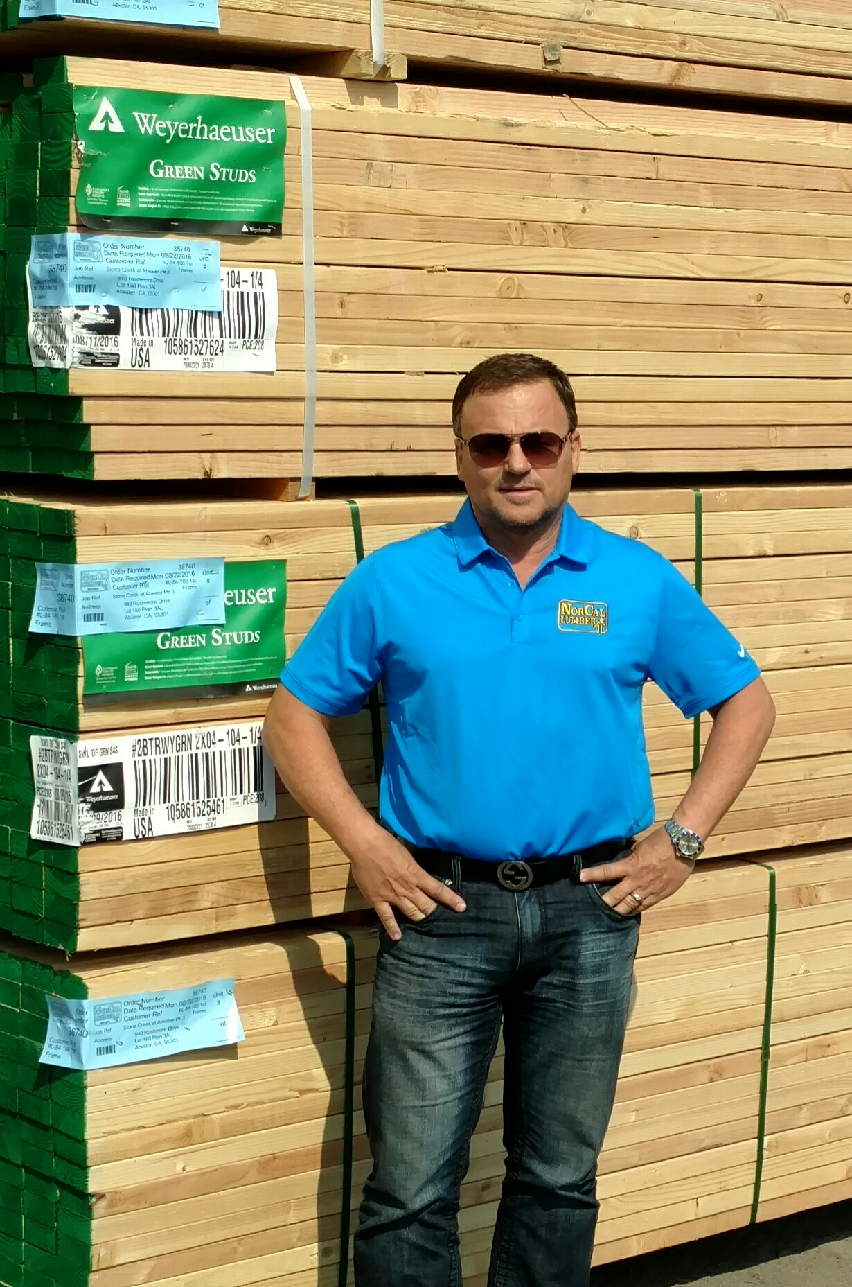 Wayne Withers  , CEO of Norcal Lumber Company, Inc.
