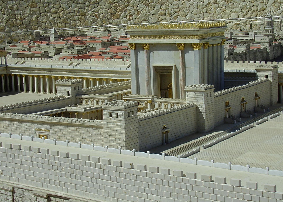 Models of the Temple and of the High Priest