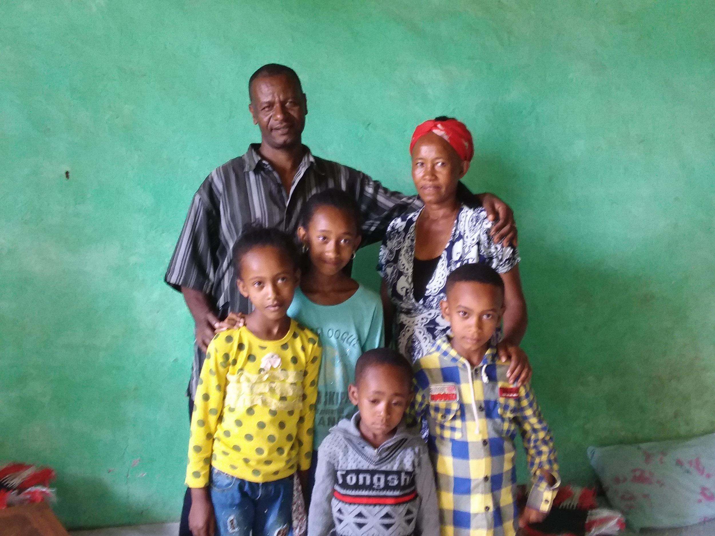 Gebeyehu- one of the translators and his family.jpg