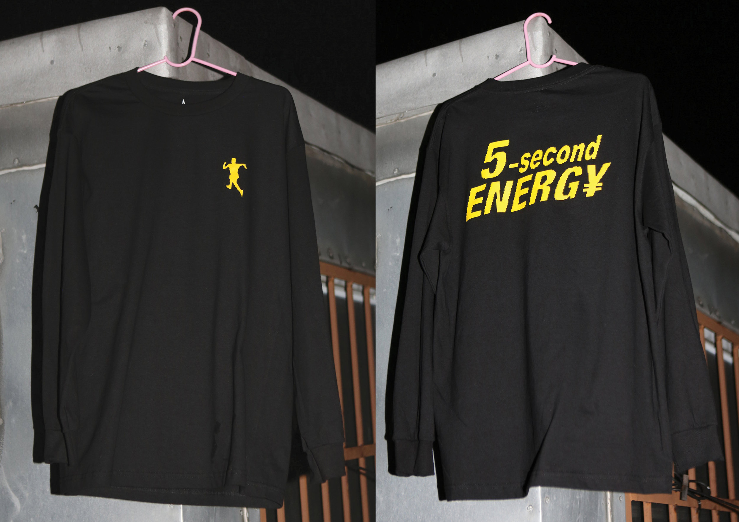 5 SECOND ENERGY Long Sleeve T
