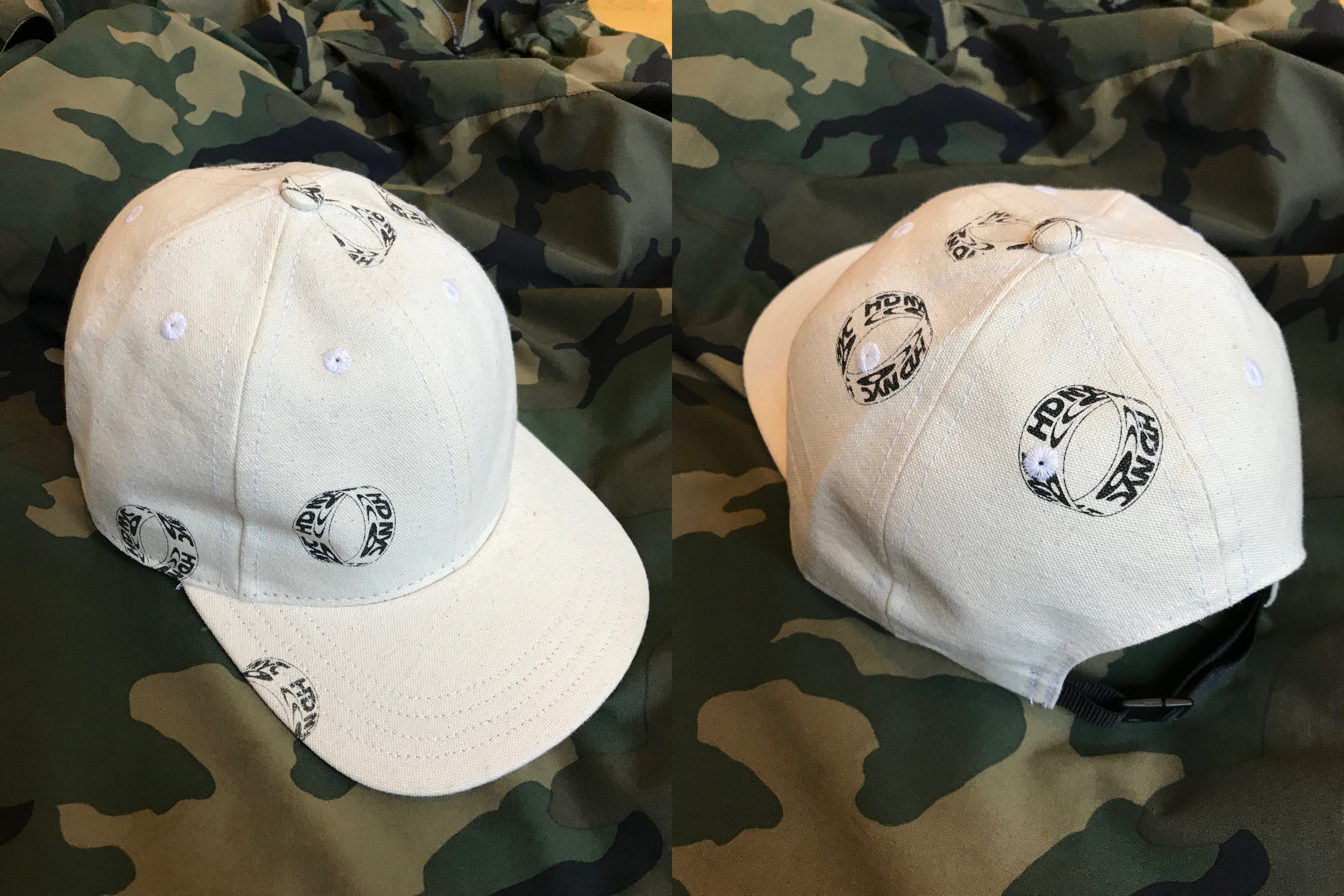 LIMITED EDITION C N Y CANVAS CAPS —— ONLINE ONLY ——- each UNIQUE