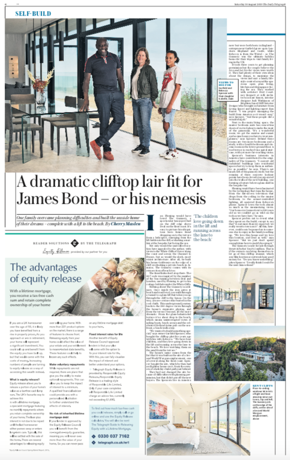 The Telegraph, 10th August 2019