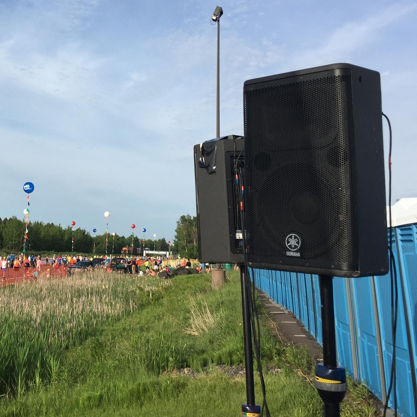 Audio Speaker Rental
