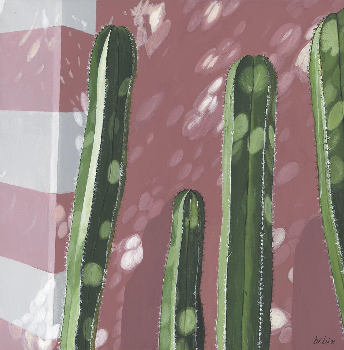 quatre cactus