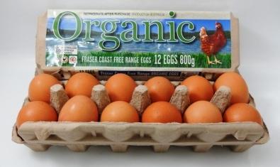 Fraser Coast Organic Free-Range Eggs
