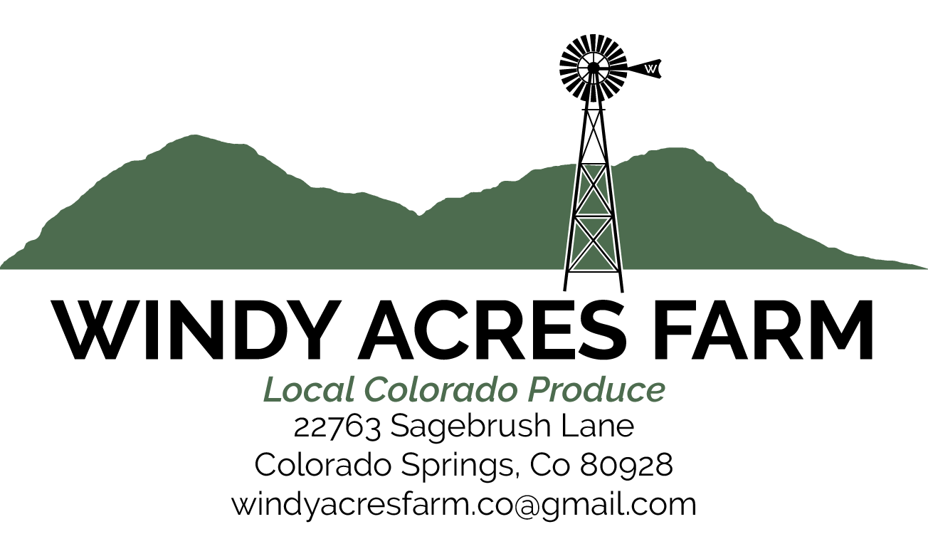 22763 Sagebrush Lane Colorado Springs, CO 80928 Windyacresfarm.co@gmail.com