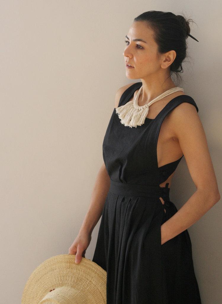 Zelma Rose Saguaro Fringe Necklace $70