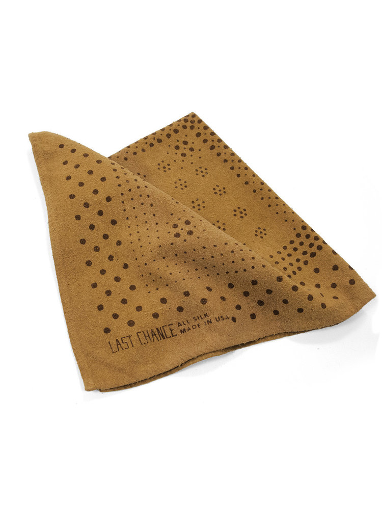 Last Chance Raw Silk Bandana  $45