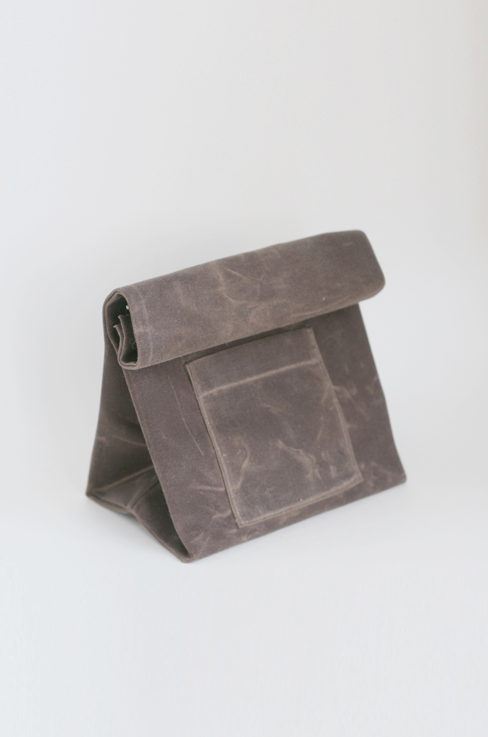 Waxed Canvas Lunch Sack $40