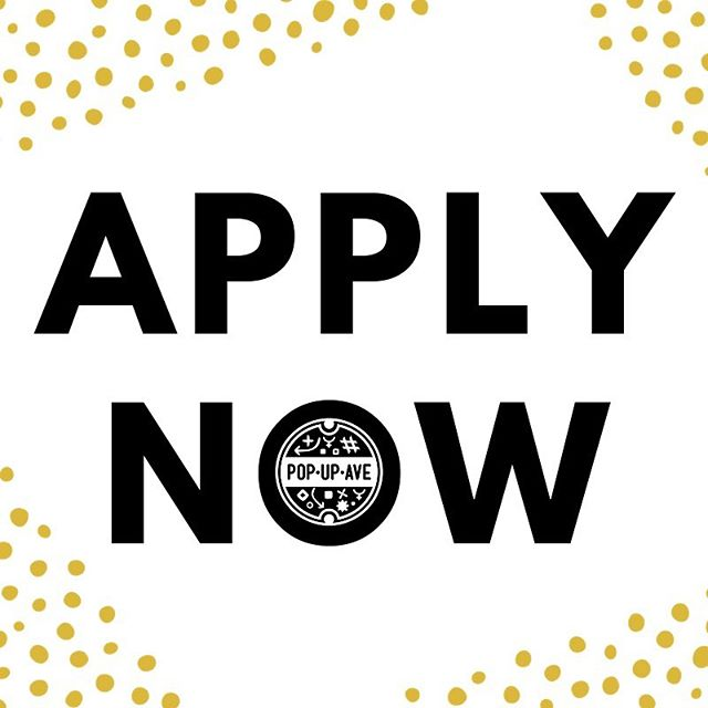 ✨CALLING ALL ROCK STAR VENDORS!✨ The next #PopUpAve is September 28 and we are now accepting applications for it. Check out our website for more info and to apply. Deadline is Monday, June 24! (LINK IN BIO)