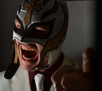 "Image: ""Luchador Xmas 2014"" by Ty Konzak/ Flickr/ photostream"