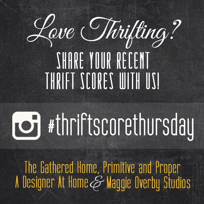 Guest Hosting Thrift Score Thursday #113