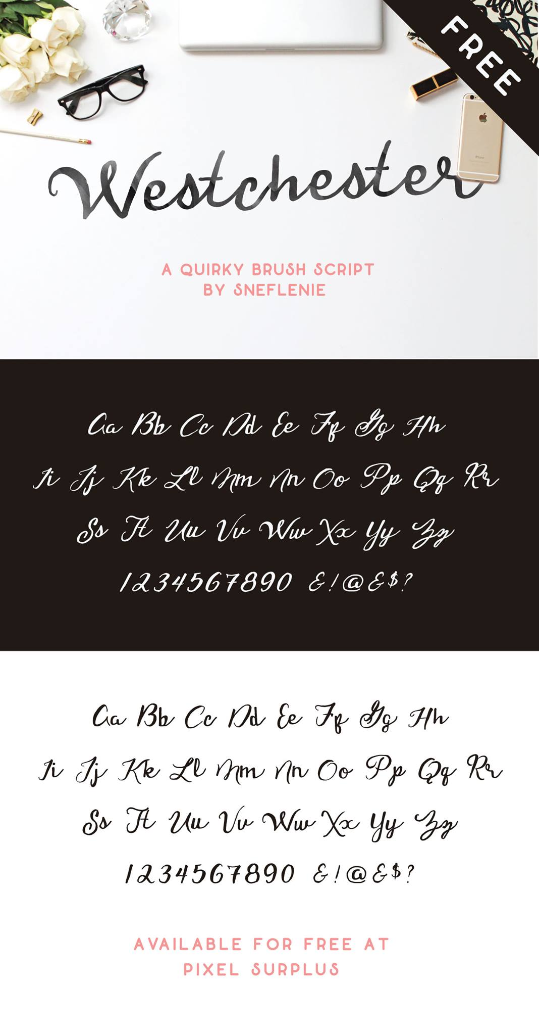 Westchester-Free-Quirky-Brush-Script