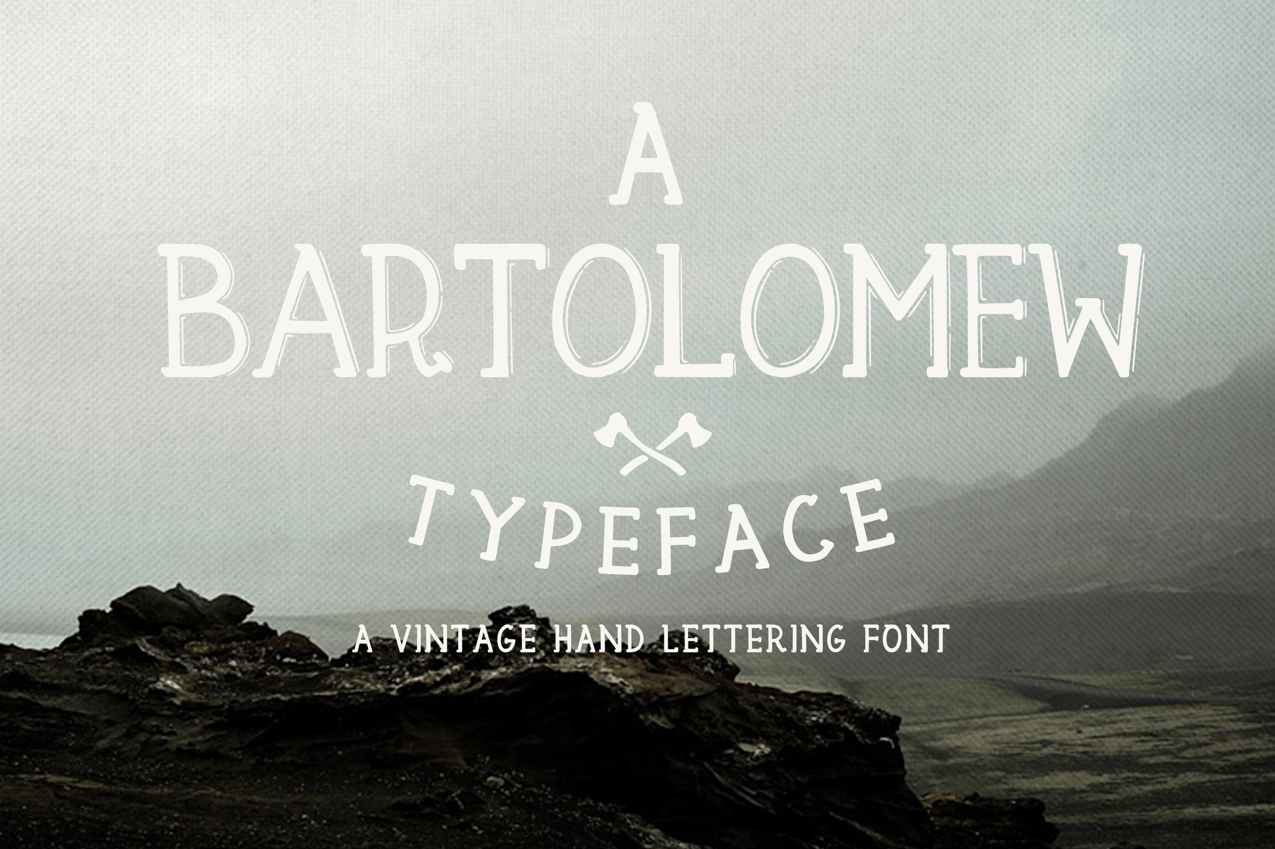 Bartolomew-Free-Vintage-Hand-Lettered-Font