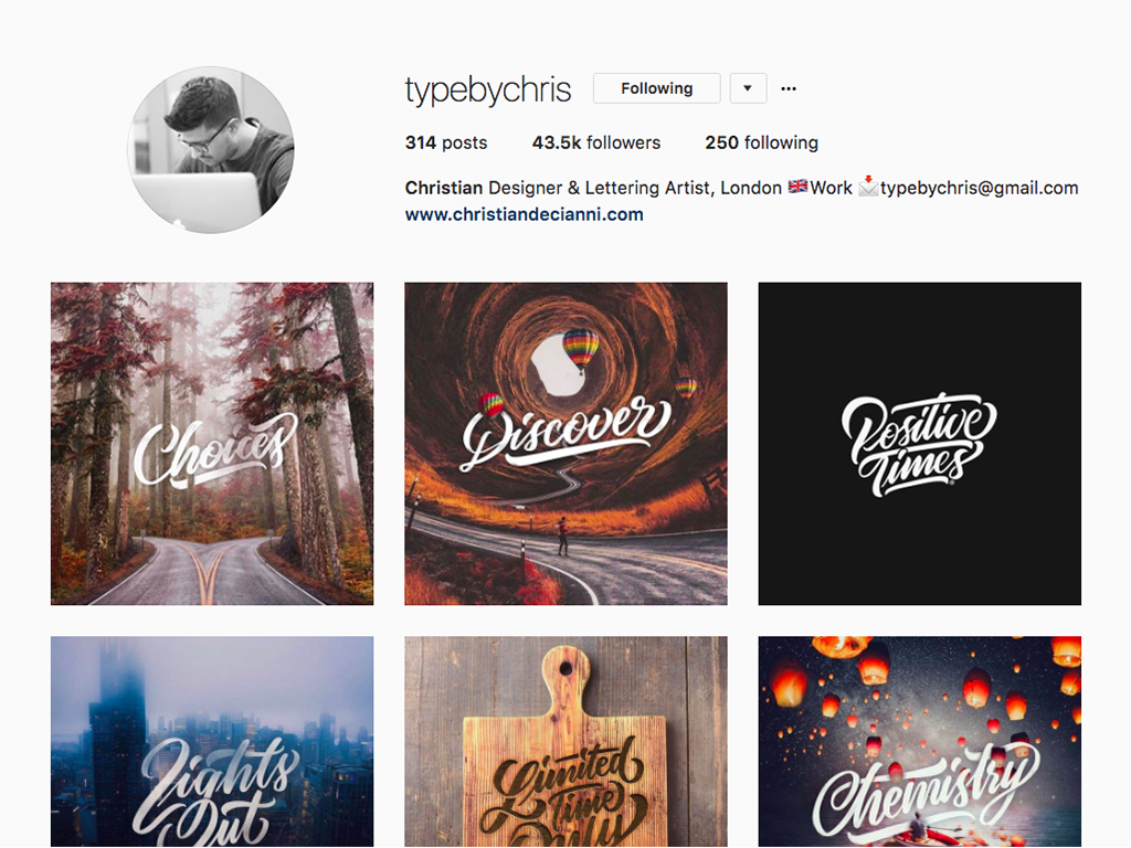 Type bychris
