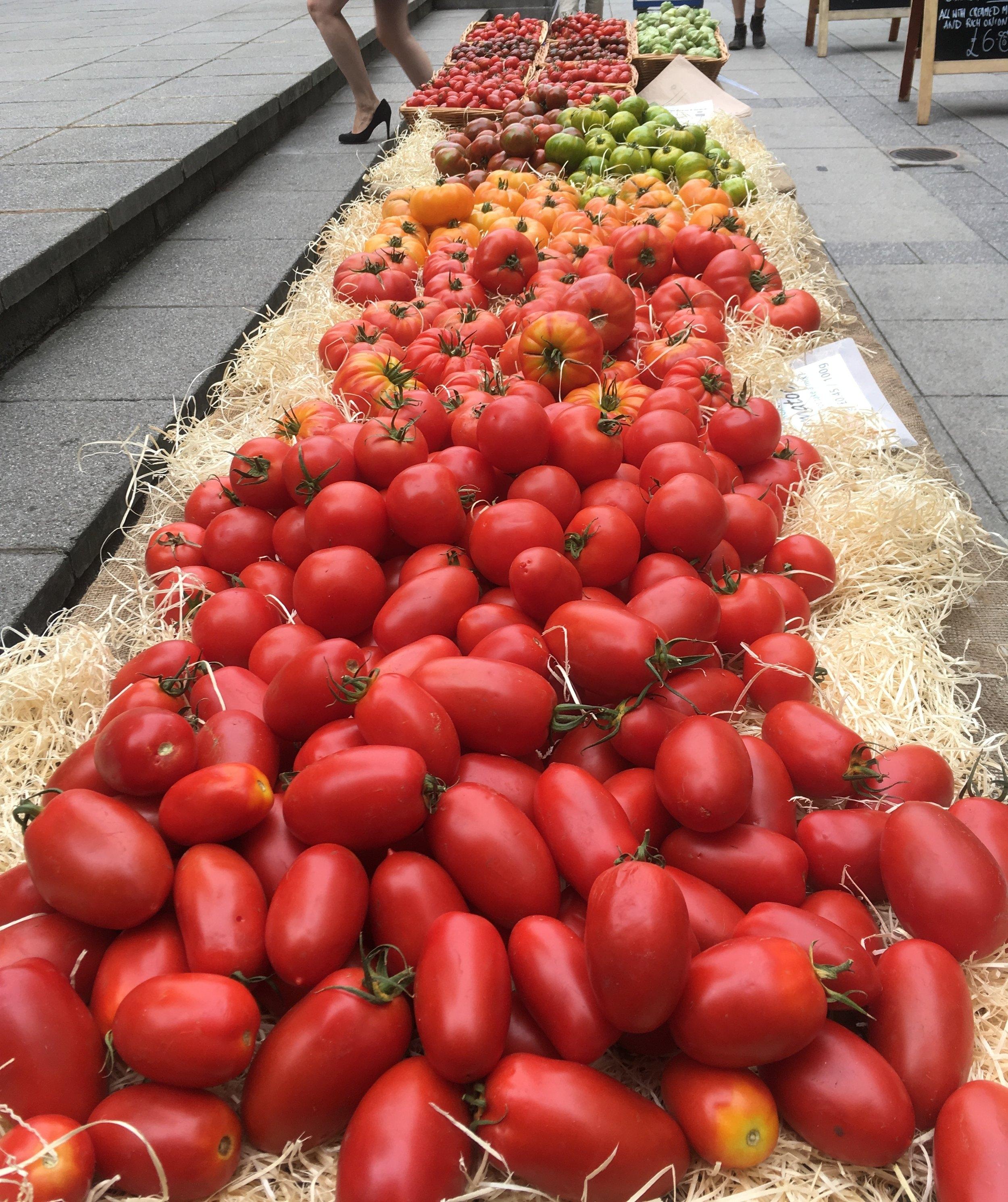 South Ken farmers' market