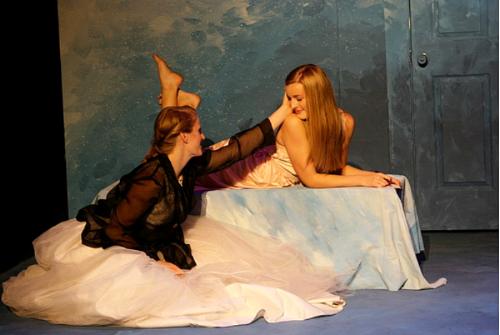 Kelsey McKean and Maddie Downes