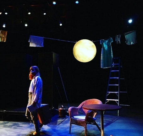 """Cassidy Slaughter-Mason as """"Daisy"""" in Available Light Theatre's Workshop Production"""