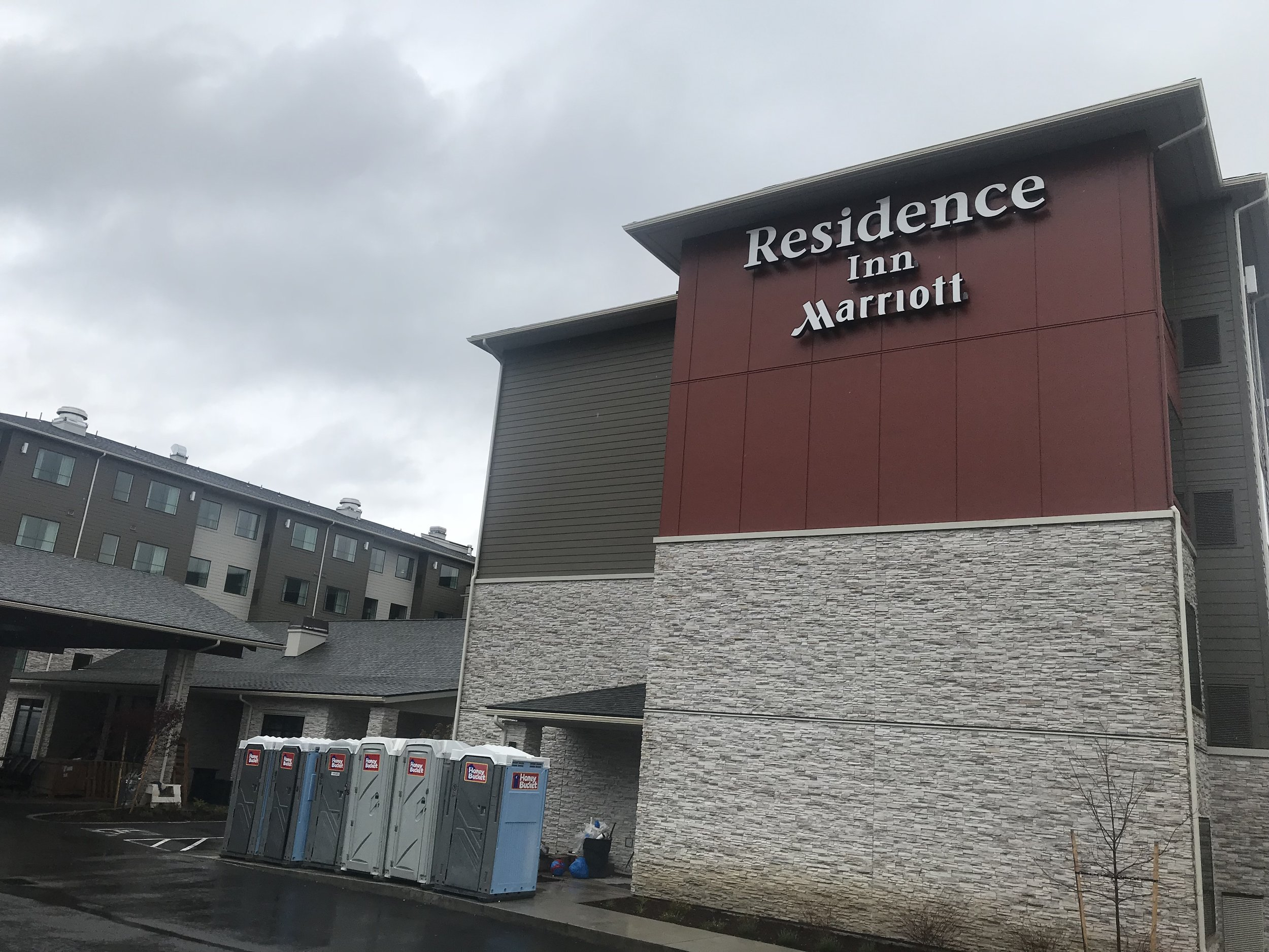 Marriott: Residence inn Sea-Tac, WA