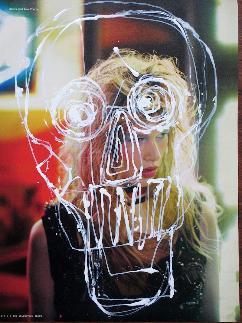 - La Femme (Hysterical Skull)Marker+Magazine Photo