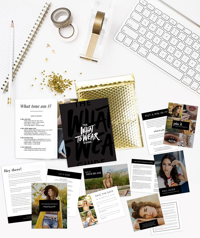 ATTN 2020 SENIORS‼️ We have a ✨NEW✨ and improved Welcome Packet for each & every one of you! . . Book your senior portrait session with us and you'll receive our What to Wear Guide, Nail Guide, Face Prep Guide, Session Reminder Card, Shopping Guide, Pinterest Guide and MORE to help you be FULLY prepared for your photo session! . . You won't have to worry about a thing because we help you with every little detail down to your cuticles! 🤩 . . Visit our website to book your session! LINK IN BIO.