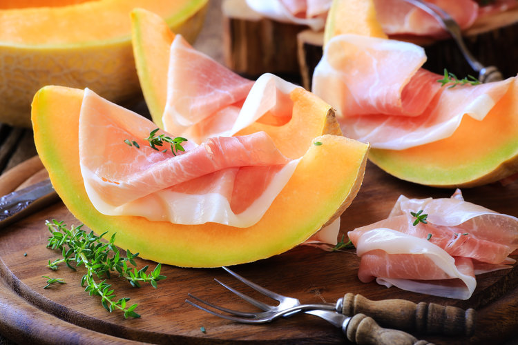 Maximum Living proscuitto wrapped melon.jpg