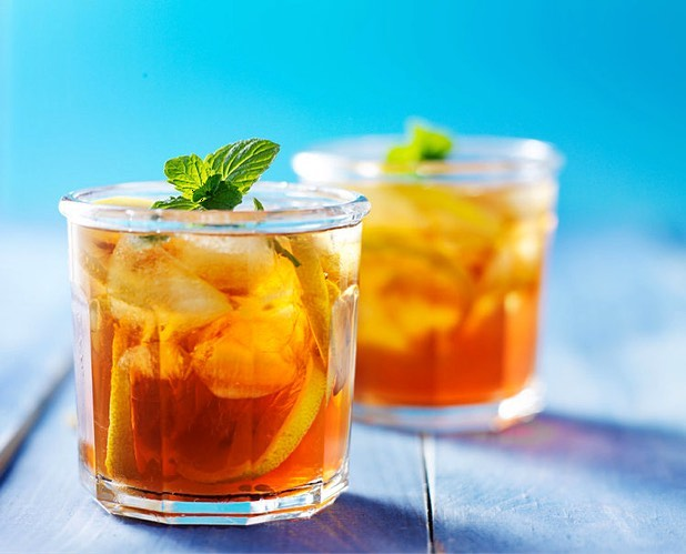 Summer is right around the corner, and you're gonna need a break from those long, blistering hot days... Maximum Living Citrus Peach Iced Tea - find the recipe at MaximumLiving.live/drinks