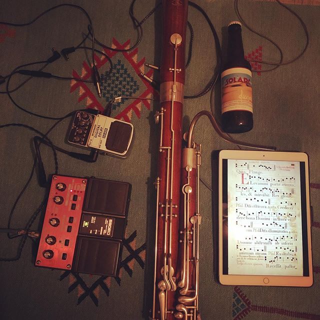 Tonight! Highland Park house show ~ I'm playing electric bassoon arrangements of medieval classics - there will be mead and dunes gruit as well as delicious soup and music by @wistapear nd @wolfwoodcockmusic #gruit #mead #medieval #bassoon #electronicmusic #solarc #houseshow #losangeles