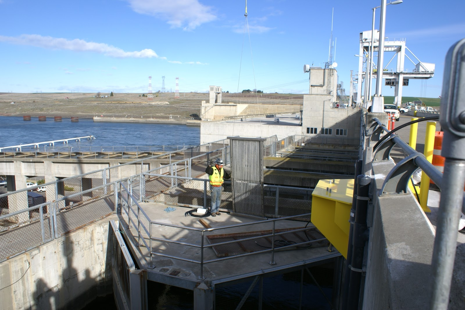 Ice Harbor Dam Adult Fishtrap Mod