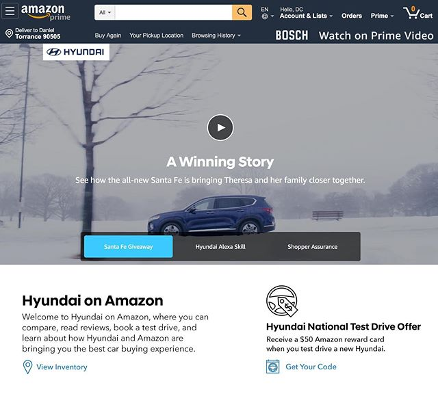 Super excited to see my recent shoot for @amazon and @hyundaiusa finally go live! ***Link in bio*** Shot on location in #milwaukee on @reddigitalcinema #dsmc2helium and @angenieuxlenses EZ series lenses.  I produced, directed and edited this 90 second version for web and a few 15 second spots that will air on Hulu.  Thanks @justin_shreeve for 2nd can work and @john_pangilinan for the assist / BTS shots. #filmmaking #advertising #shotonred