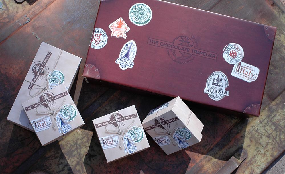 The Chocolate Traveler | Box Set