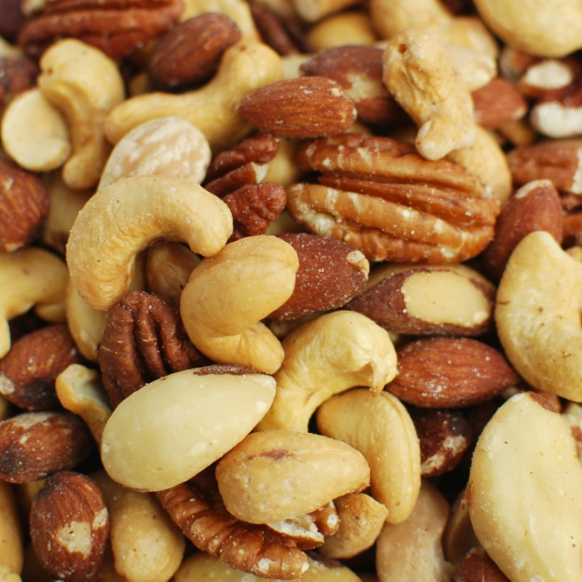 Roasted Mixed Nuts (No Salt)