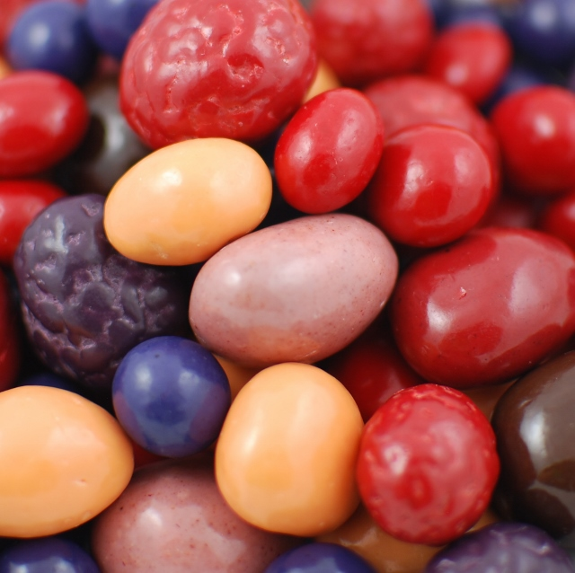Chocolate Covered Mixed Fruit