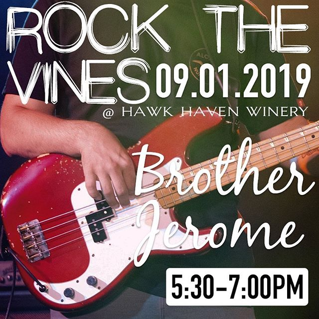 Glad to be a part of Rock The Vines this Sunday at @hawkhavenwinery. Join us for some duo vibes tonight down at @two_mile_landing in Wildwood Crest 5pm 🦀 #winery #vineyard #southjersey #livemusic #goodvibes #reggae #rock #soul #music #bass #guitar #drums #vocals