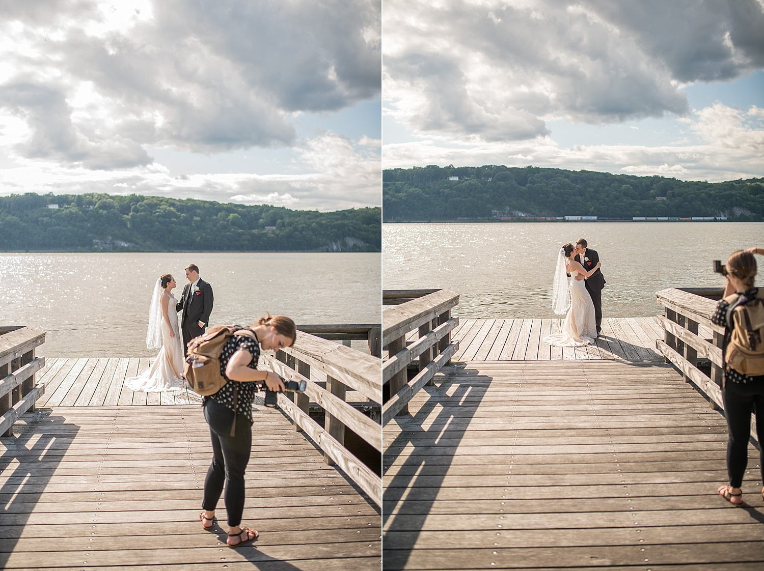 Bright, beautiful photos right on the Hudson River!
