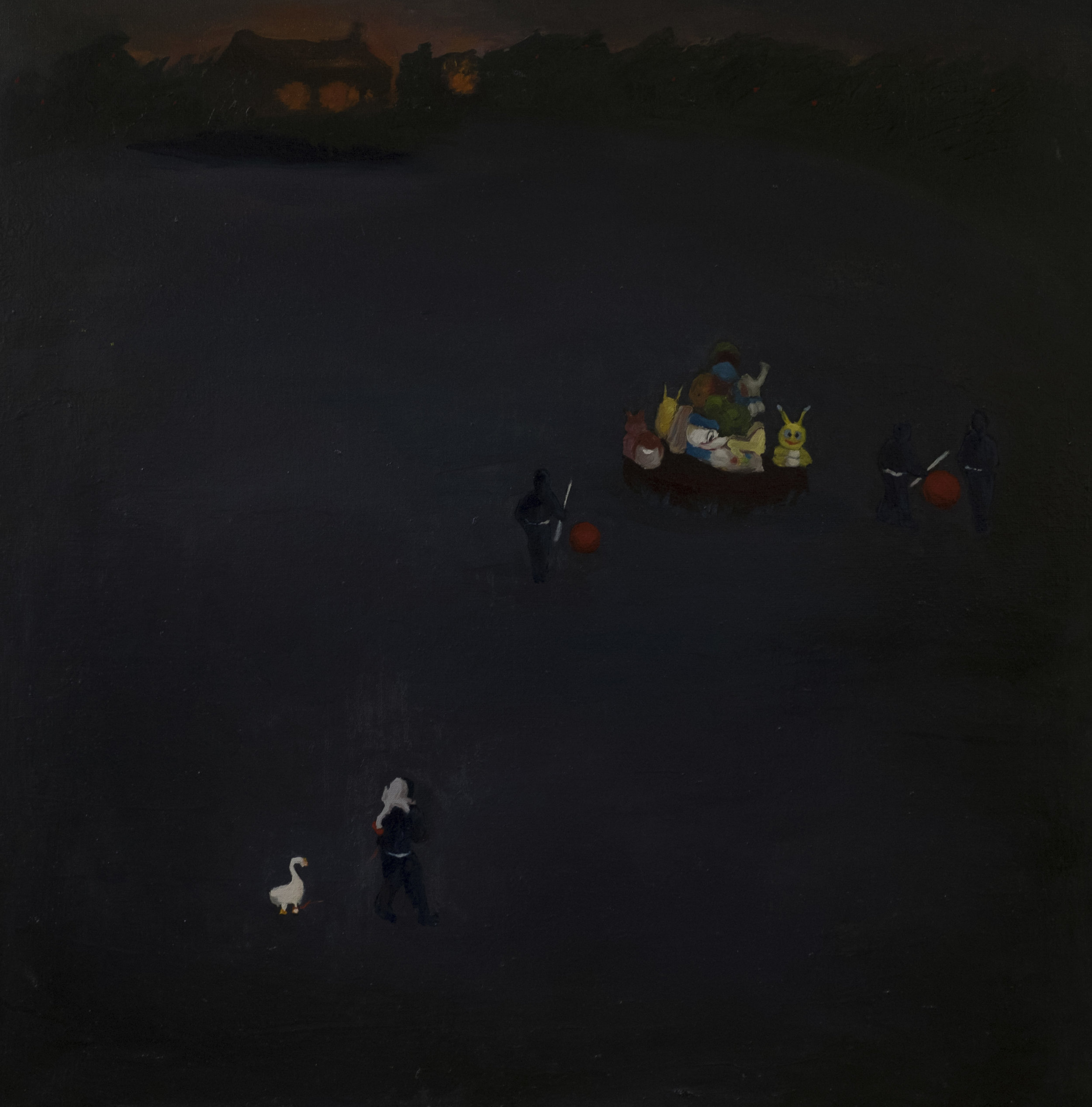 80 x 80 cm  oil on canvas