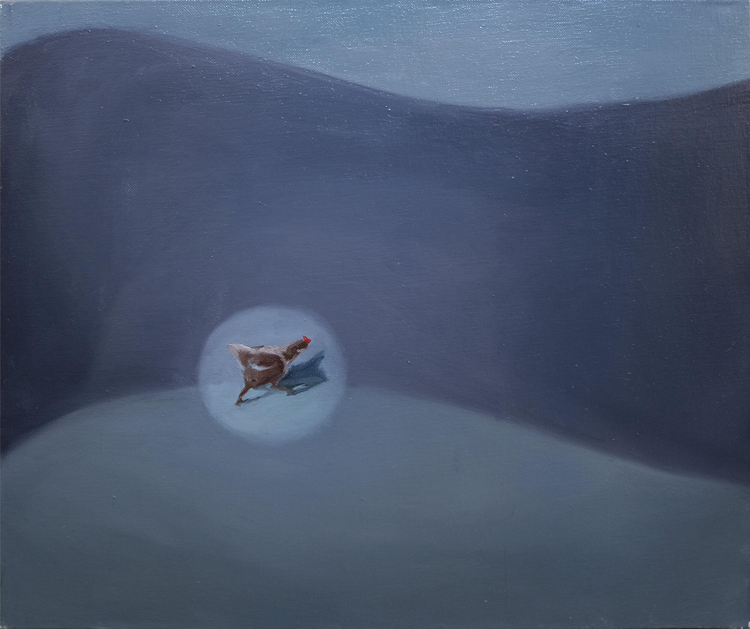 48 x 60 cm  oil on canvas