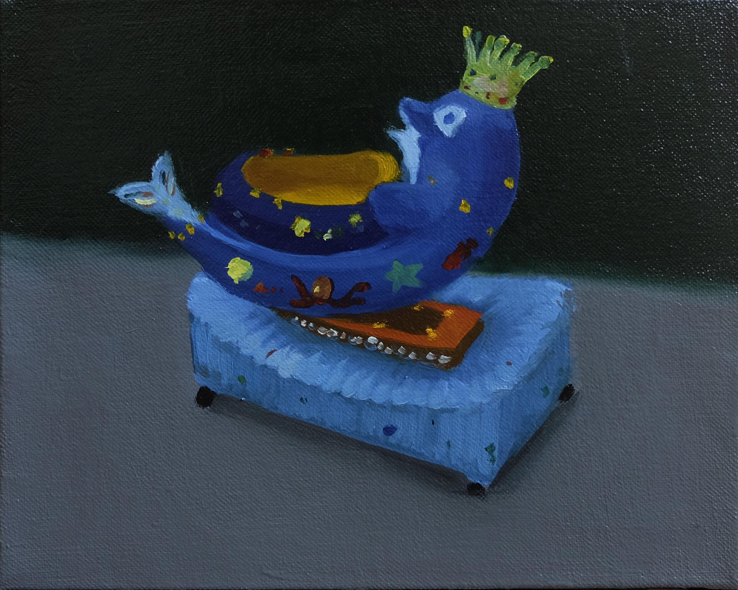 30 x 25 cm  oil on canvas