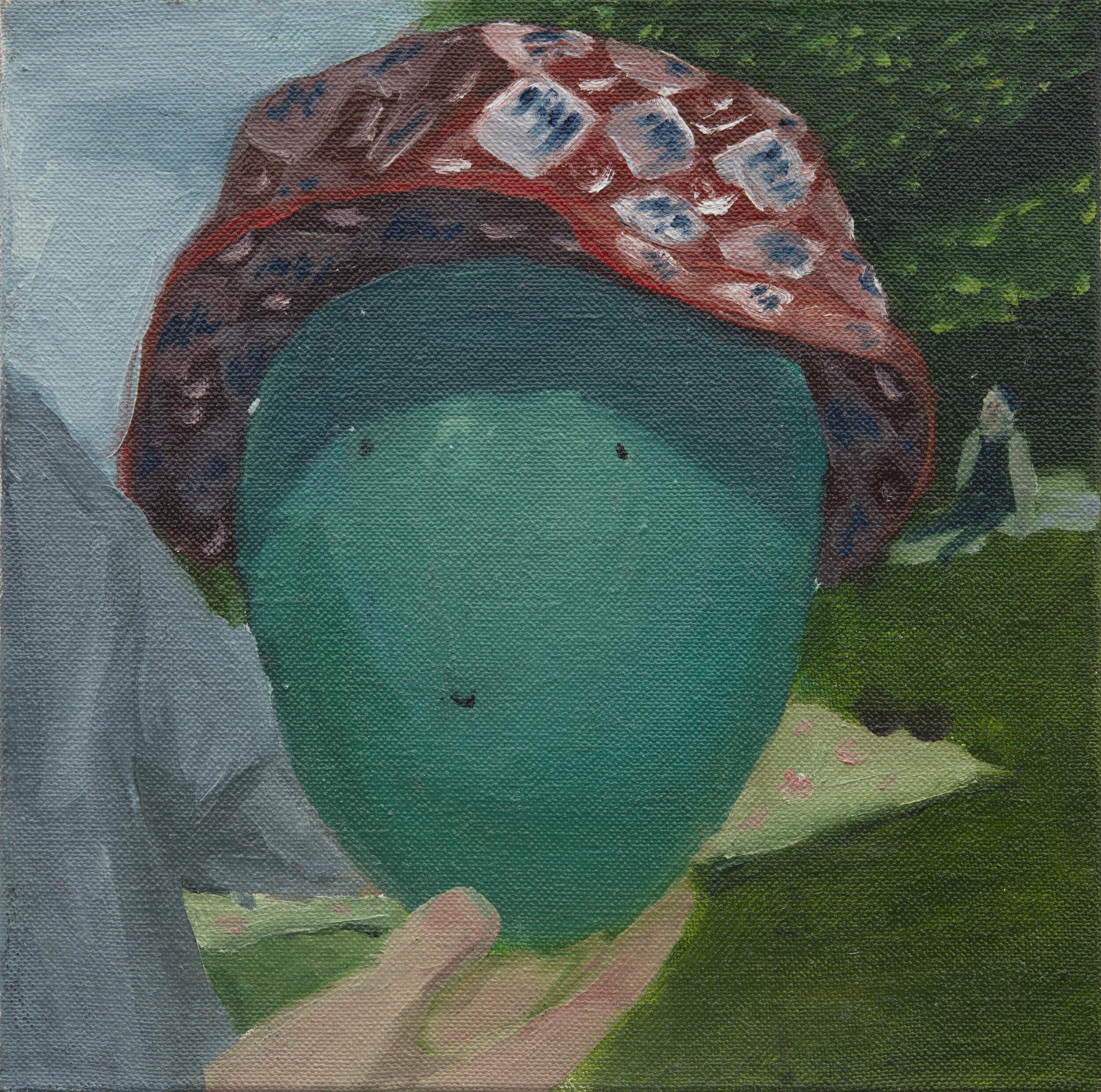 30 x 30 cm  oil on canvas