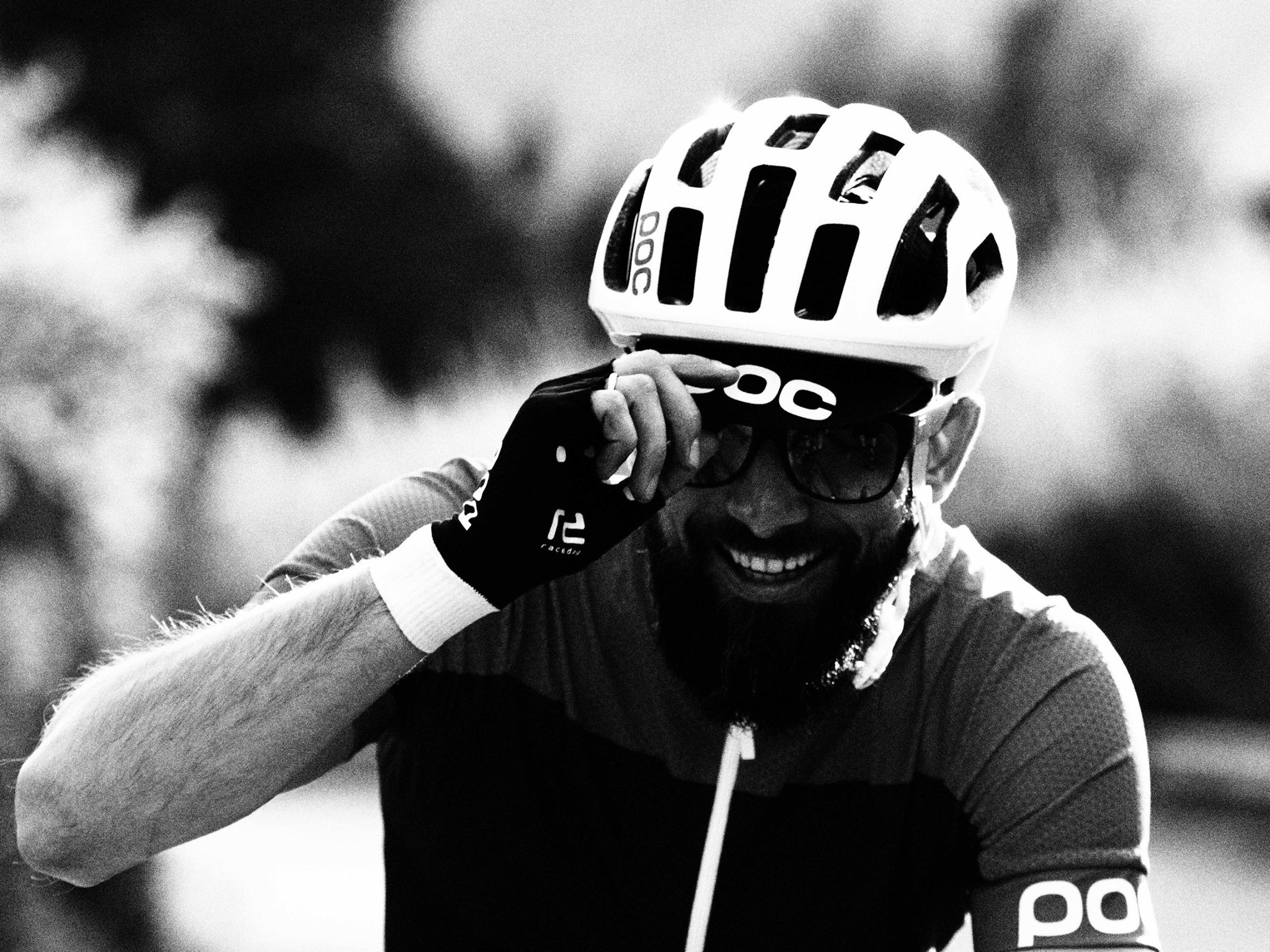 POC is working with many bike apparel categories, for example aero and MTB apparel